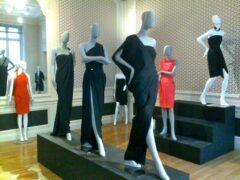 Martin Grant präsentiert seine Kollektion gerne im eigenen Atelier-Showroom.