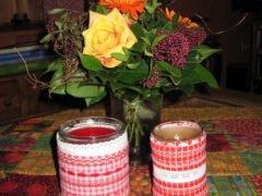 Teelichter-Tisch