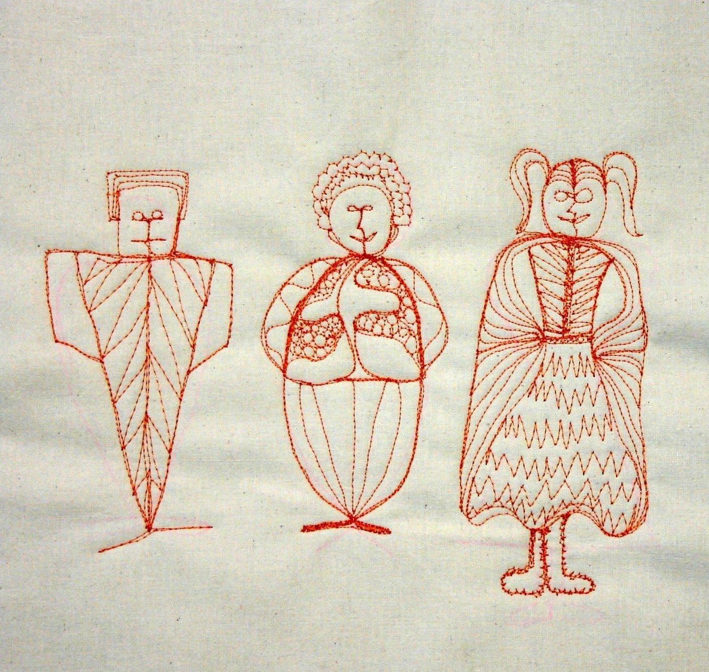 Zeichnen Mit Der Nahmaschine Bernina Blog