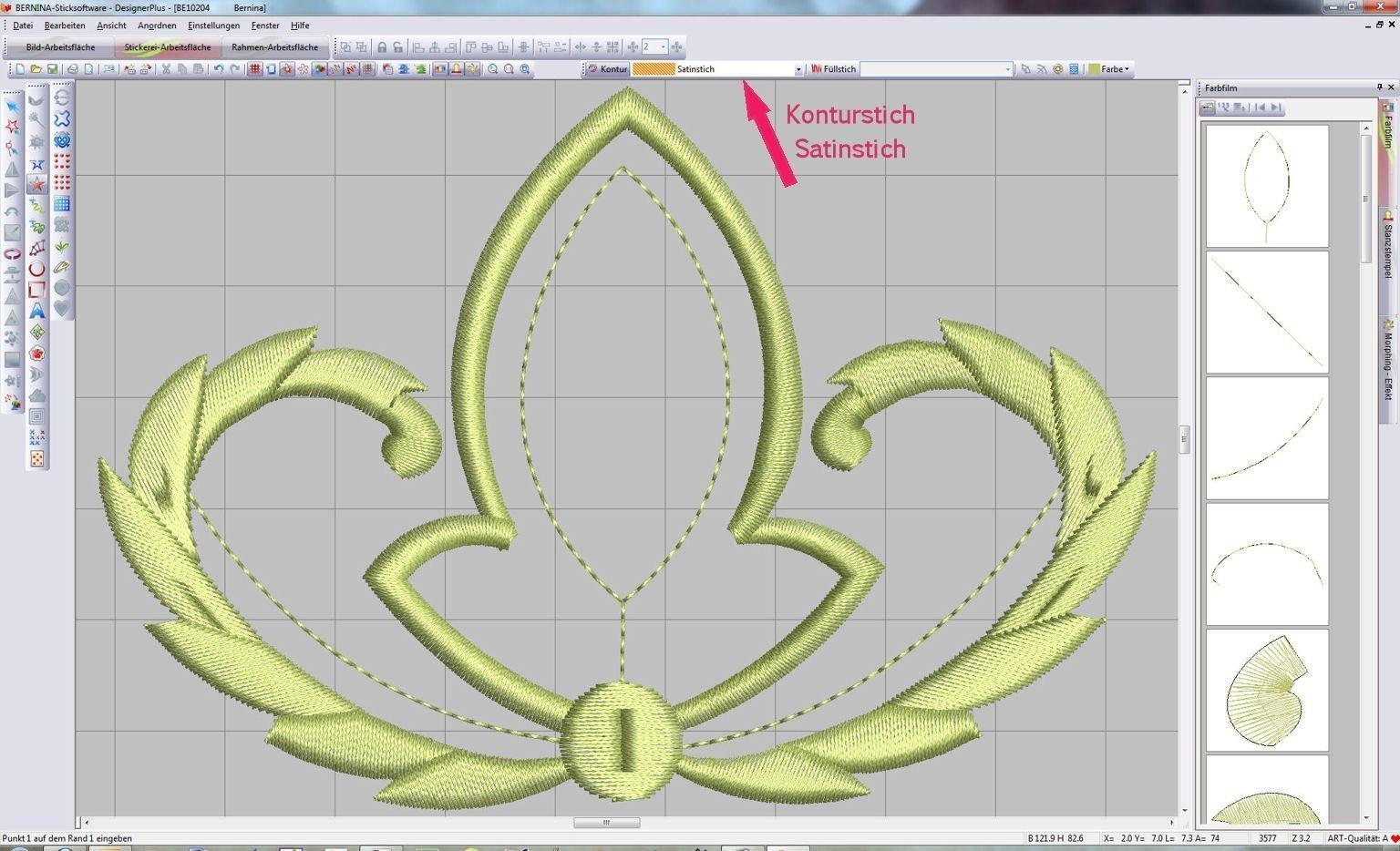 workshop sticksoftware v6 applikationen teil 3 bernina blog. Black Bedroom Furniture Sets. Home Design Ideas