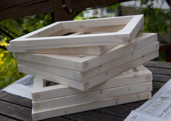 Holzrahmen Bauen Stunning Stabiler Komposter Imprgniert Hochbeet X