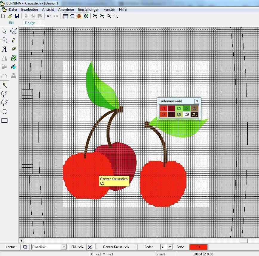 Das Kreuzstichprogramm - Teil 5 Grafiken digitalisieren » BERNINA Blog