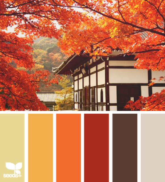 Indian summer bernina blog for Oriental colour palette