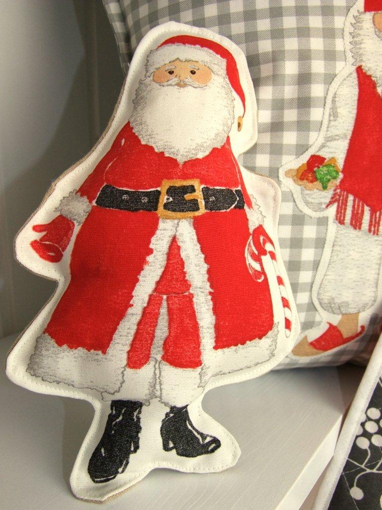 Weihnachtsmann ausgestopft