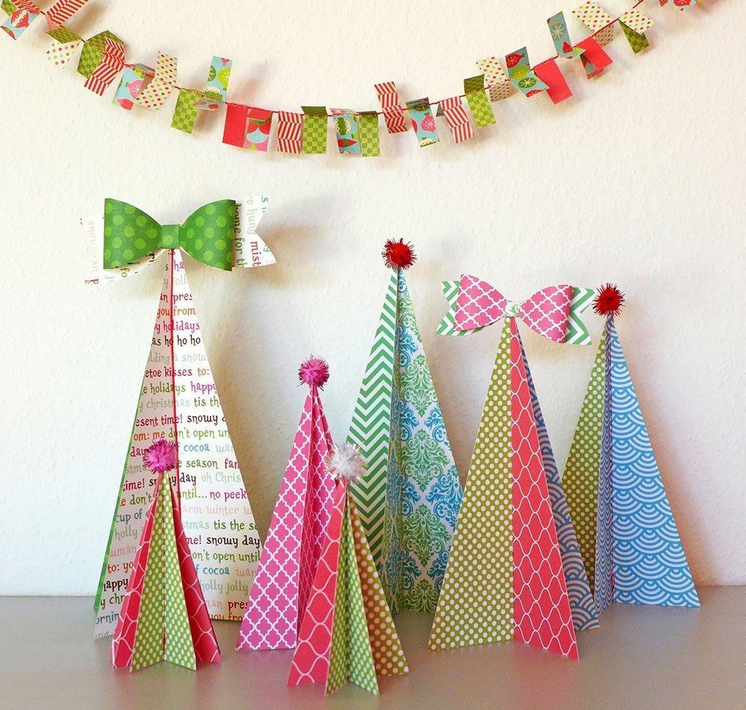 Wunderbar Weihnachtsdeko Aus Papier Galerie Von Wer