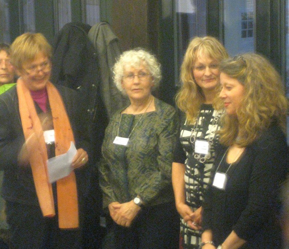 Gabi Mett, Grietje van der Veen, Judith Mundwiler, Cécile Trentini (v.l.n.r.)