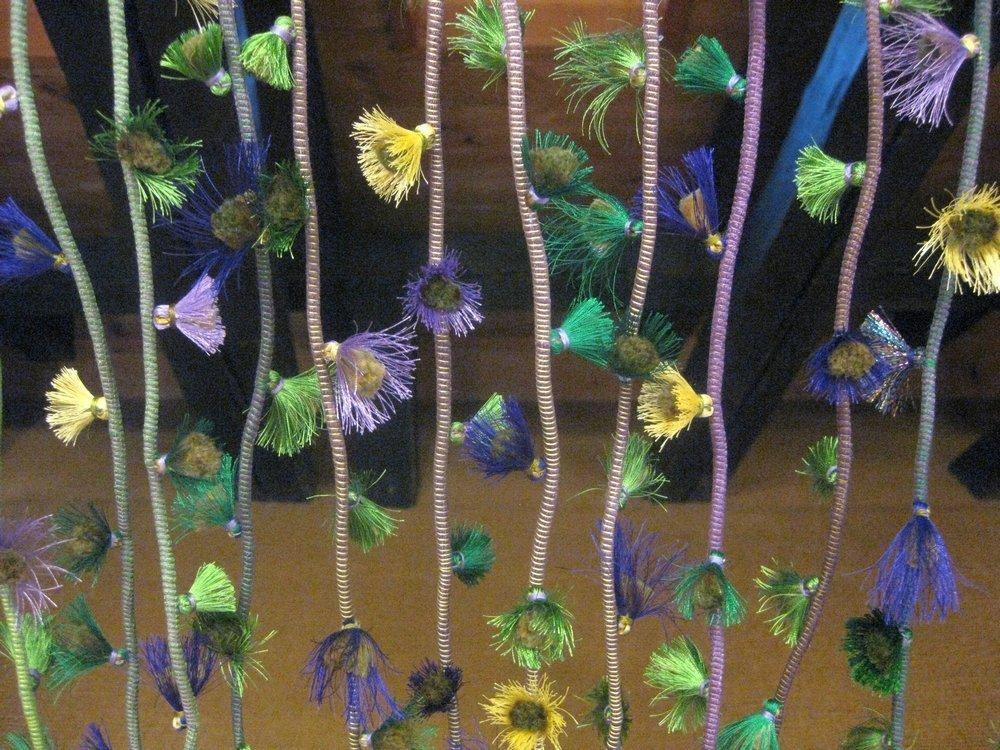 Rosmarie Artmann-Graf: Blumen der Nacht, Detail