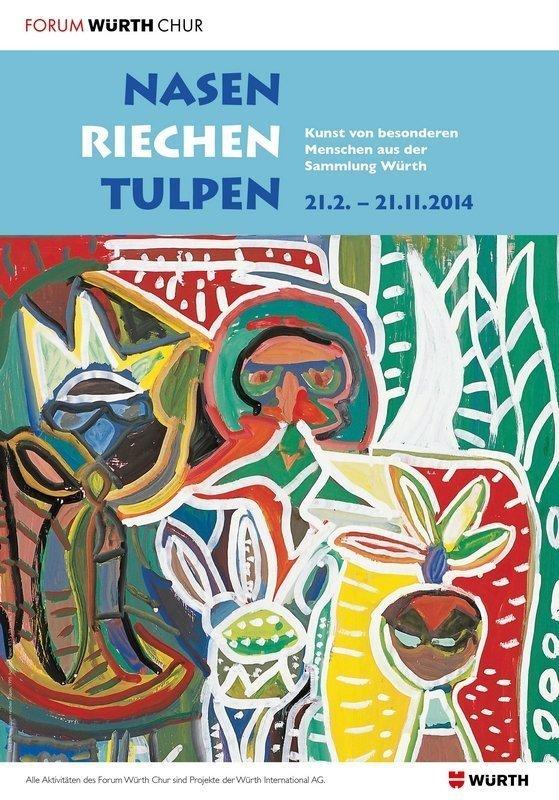 Nasen_riechen_Tulpen_Plakat