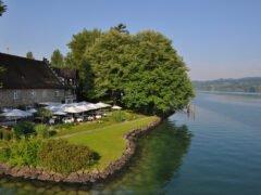 Terrasse des See- und Parkhotels Feldbach