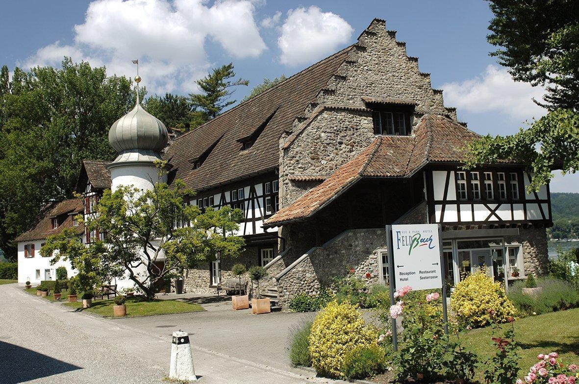 Das See- und Parkhotel Feldbach ist in einem ehemaligen Kloster untergebracht.