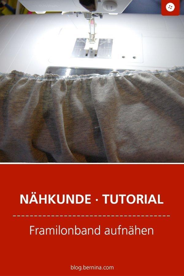 Nähkunde / Tutorials: Framilonband aufnähen #framilon #framilonband #kleidungnähen #nähenfürkinder #nähen #tutorial #nähanleitung #diy #bernina