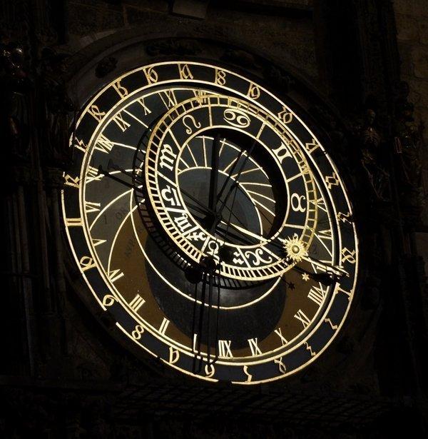 Astronomische Uhr in Prag, Detail