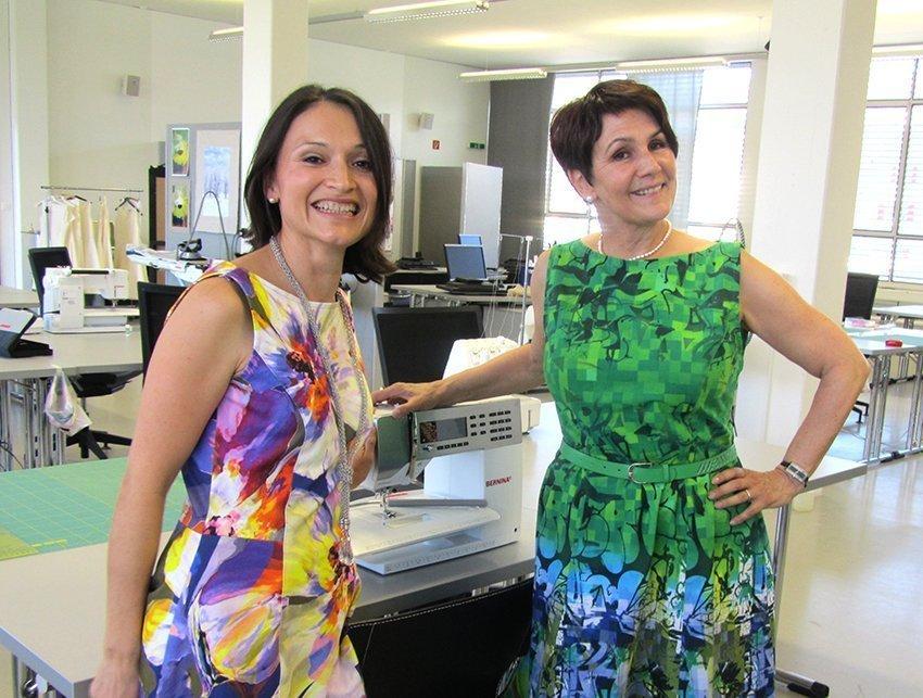 Teilnehmerinnen des Sommerkleid-Workshops 2012