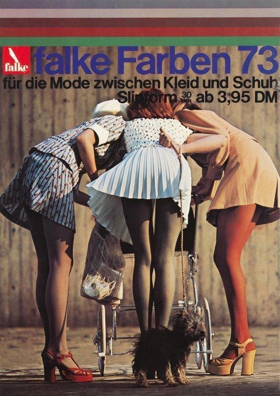 Falke Werbung 1973 Foto von F.C. Gundlach Bildnachweis Falke KGaA