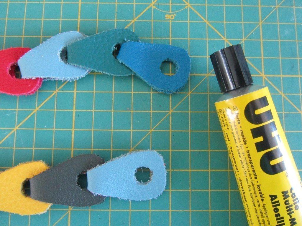 Nähanleitung Leder-Armband 15