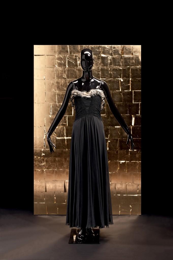 Gabrielle Chanel Abendkleid/Evening Dress, 1939 Seidenkrepp, Organdy, Spitze Gemeentemuseum, Den Haag © Draiflessen Collection, Mettingen, Fotografie von Christin Losta