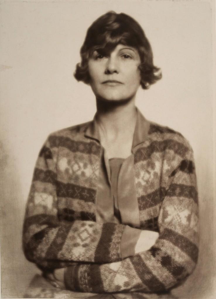 Madame D'Ora Die Modeschöpferin Coco Chanel, um 1927 Silbergelatine Museum für Kunst und Gewerbe Hamburg