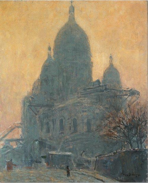 Kees van Dongen Montmartre, Le Sacré-Coeur, 1904 Öl auf Leinwand, 81 x 65 cm. Nouveau Musée National de Monaco. Foto: Marcel Loli. © VG Bild-Kunst, Bonn 2014