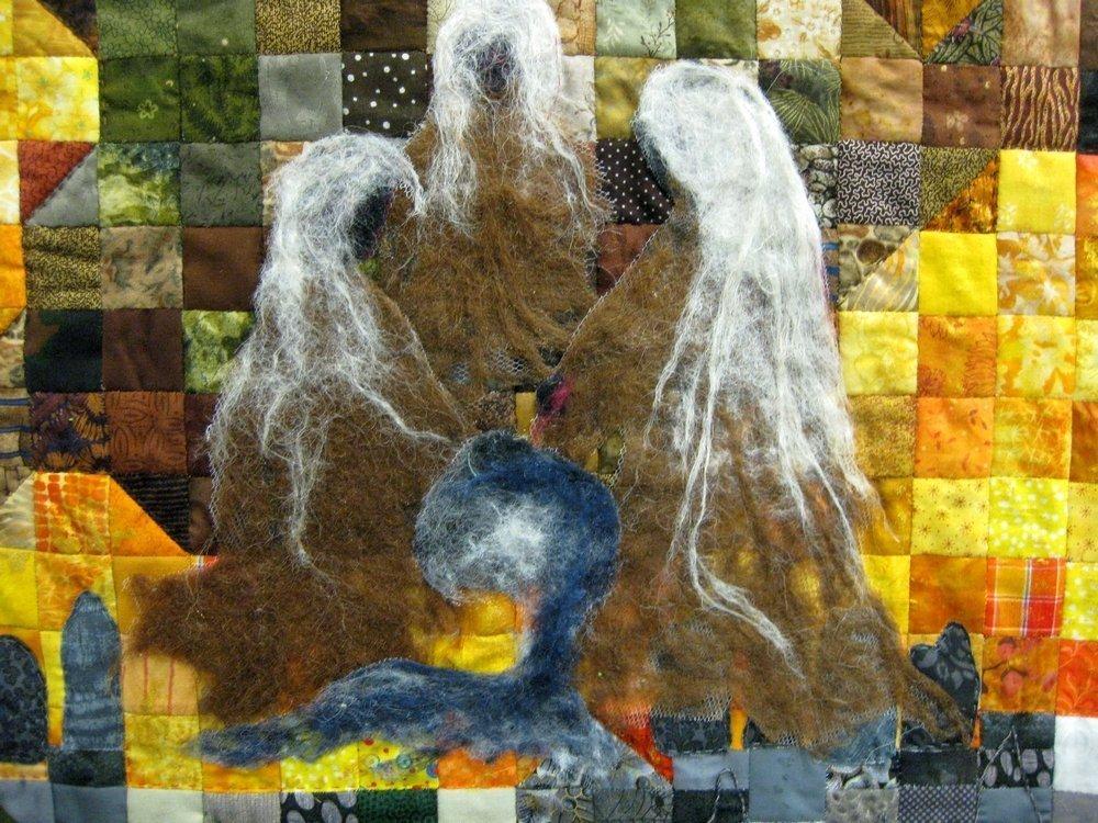 Quilterne Tjele (DK): Yggdrasil, Detail