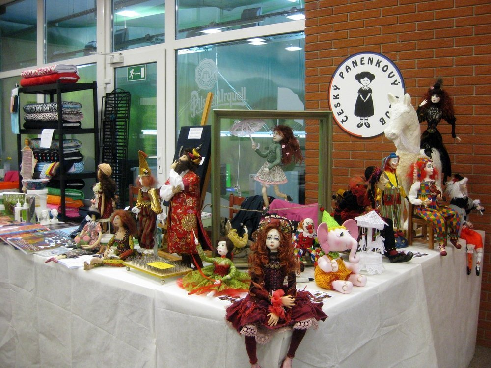 Stand vom Art Dolls Club
