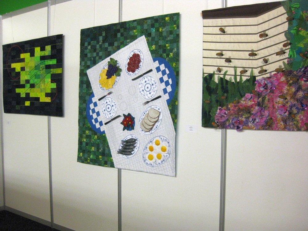 Larsen Kirsten (DK): Green Inspiration, Have Eva (DK): Picnicking, Valnert Ulla (DK): Bees (v.l.n.r.)