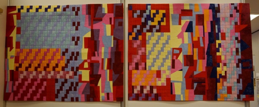 Pat Budge (USA): Weaving 14 und 15