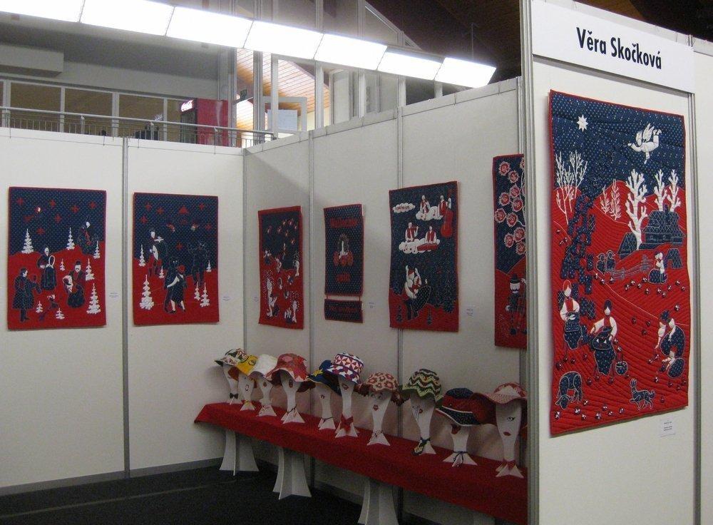 Blick in die Ausstellung von Vera Skockova (CZ)