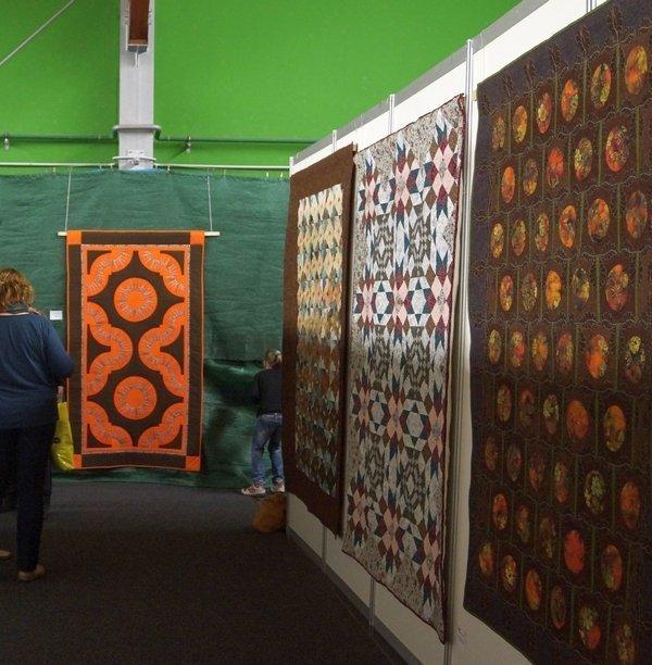 Ausstellung der tschechischen Quilts