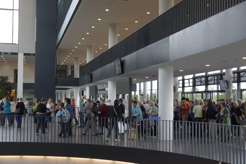 NADELWELT 2014 - grosser Besucherandrang