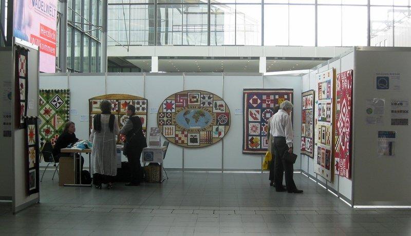Ausstellung 'Quilt around the World'