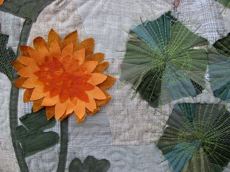 Irina Fomina (UA): Pinien beim Haus. Die Elster, Detail
