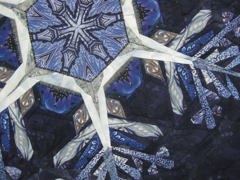 Paula Nadelstern (USA): Kaleidoscopic XXII: Ice Crystals, Detail