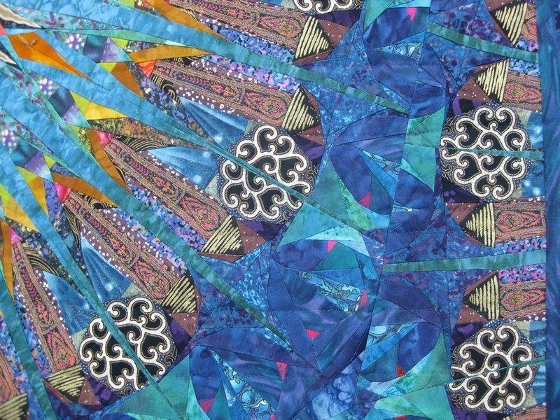 Paula Nadelstern (USA): Kaleidoscopic XVII: Caribbean Blues, Detail