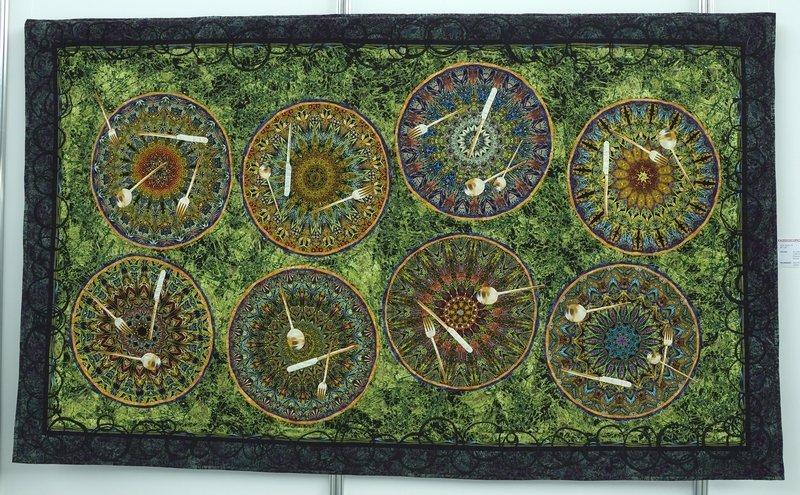 Paula Nadelstern (USA): Kaleidoscopic XXXV: Service for Eight
