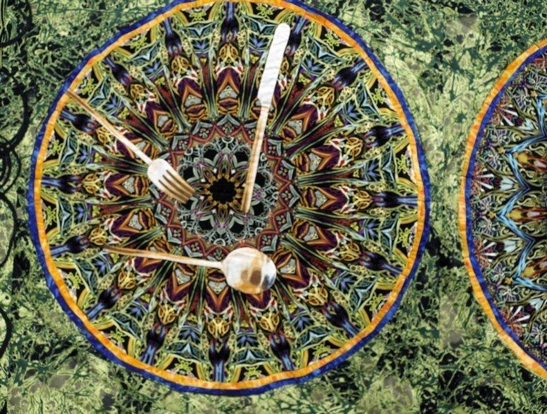 Paula Nadelstern (USA): Kaleidoscopic XXXV: Service for Eight, Detail
