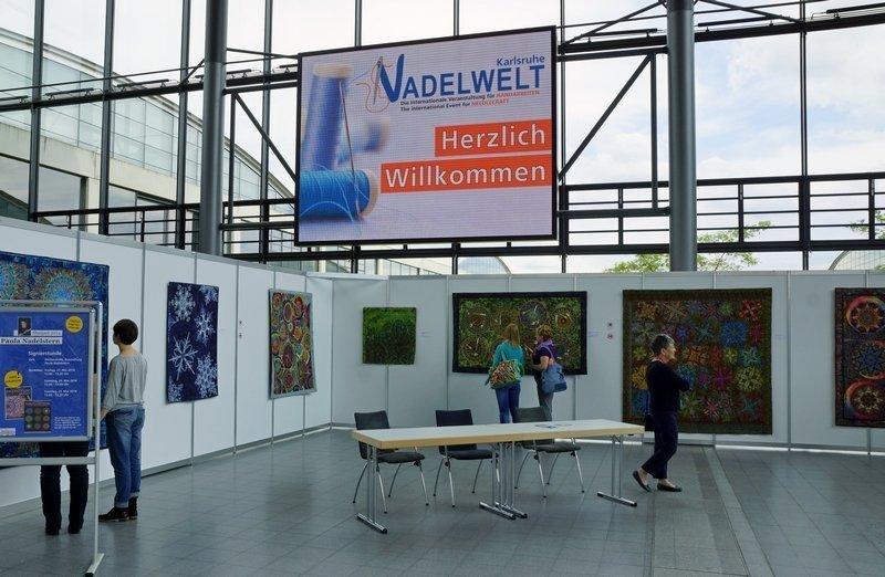 Ausstellung 'Kaleidoskop Quilts' von Paula Nadelstern (USA)