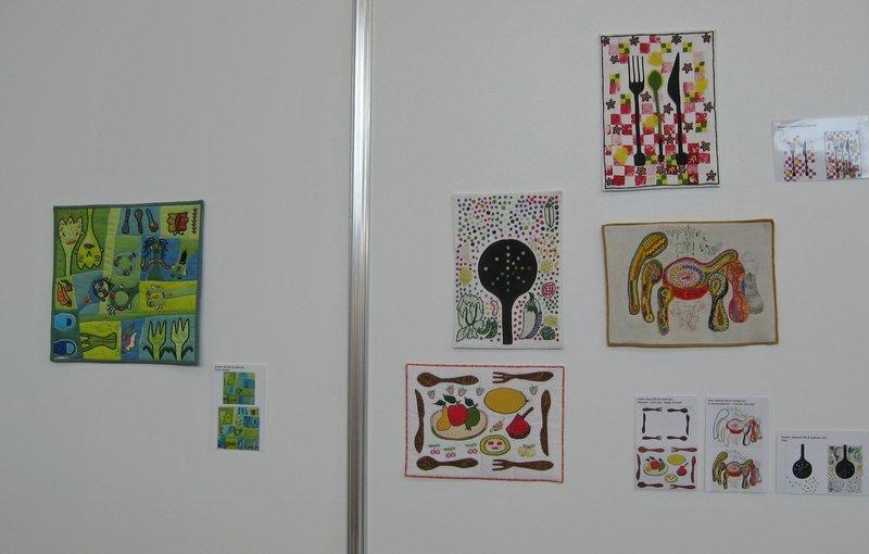 """Ausstellung """"Aus der Küche"""" von Pascale Goldenberg / Deutsch-Afghanische Initiative"""