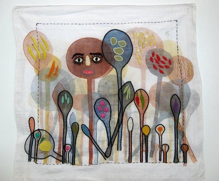 """Ausstellung """"Aus der Küche"""": Anne Moreno (ES) & Iklima (AF): Dancing Spoons"""
