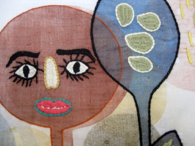 """Ausstellung """"Aus der Küche"""": Anne Moreno (ES) & Iklima (AF): Dancing Spoons, Detail"""