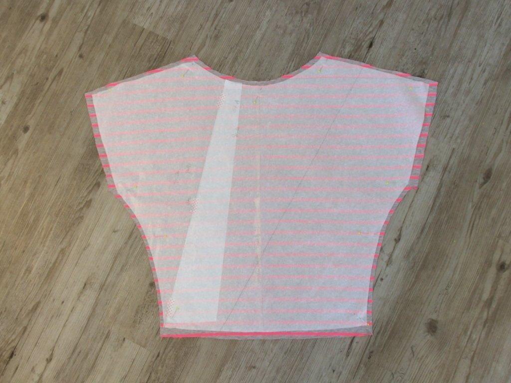 Schnittteil Blusen-Shirt Vorderteil