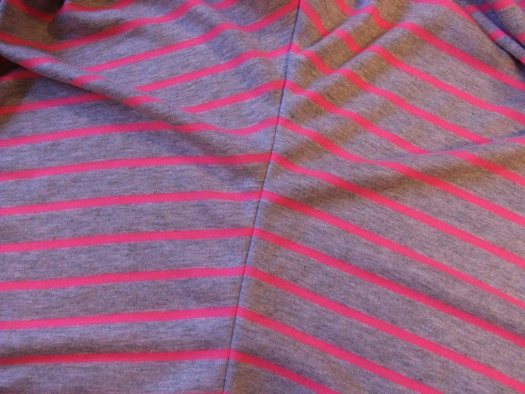 Jersey-Shirt Streifen