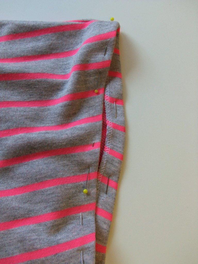 Armausschnitte Blusen-Shirt