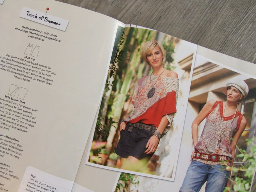 Blusen-Shirt Bernina Inspiration