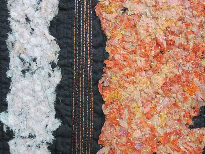 Saskia Hetzel: Farbig, Detail Foto: Karin Schuler