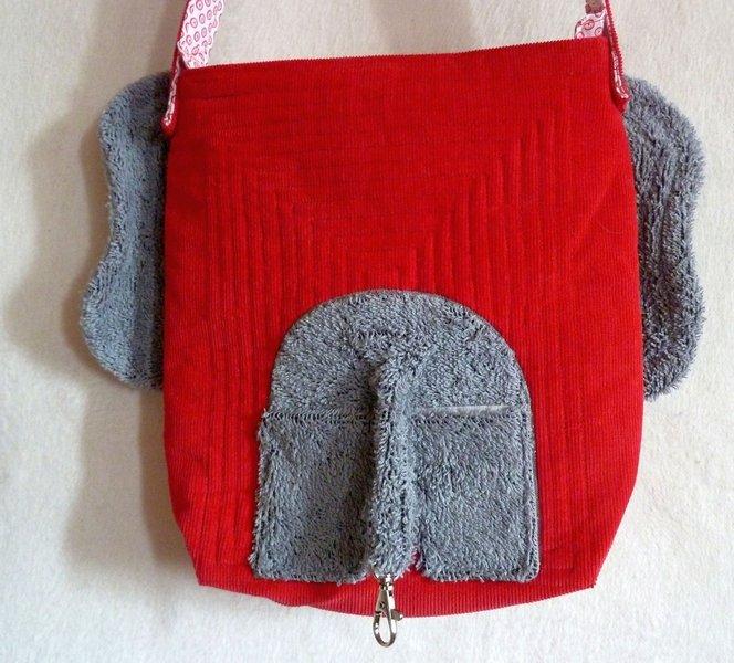 Rückseite der Tasche von Nele Ostermann Foto: Eli Thomae