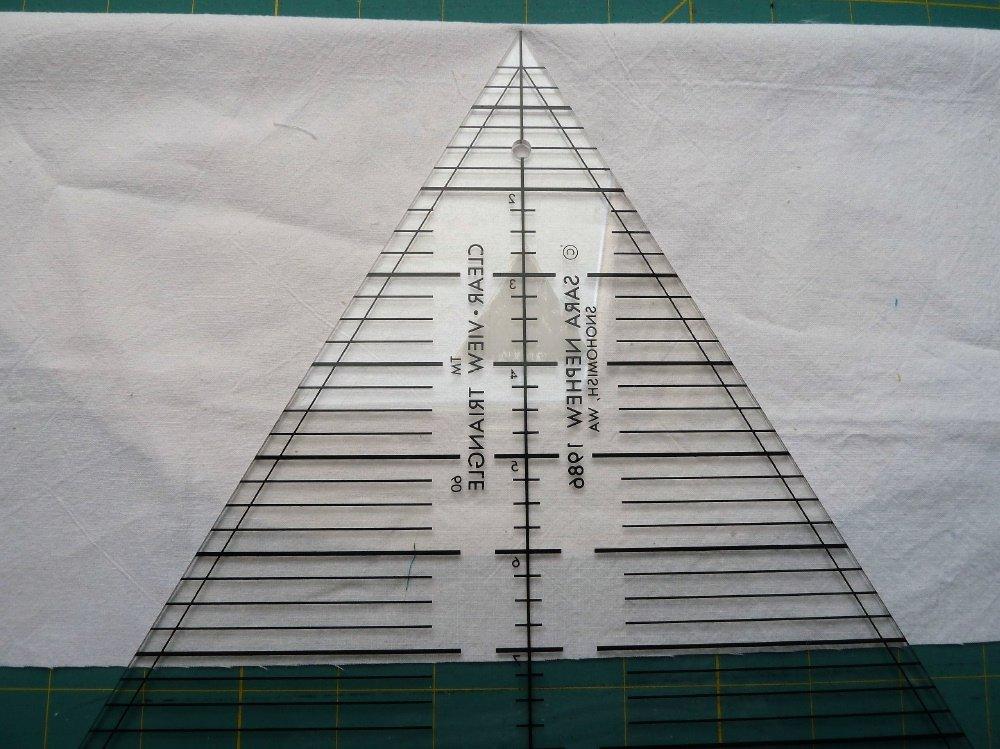 Nähanleitung 60°Dreiecke