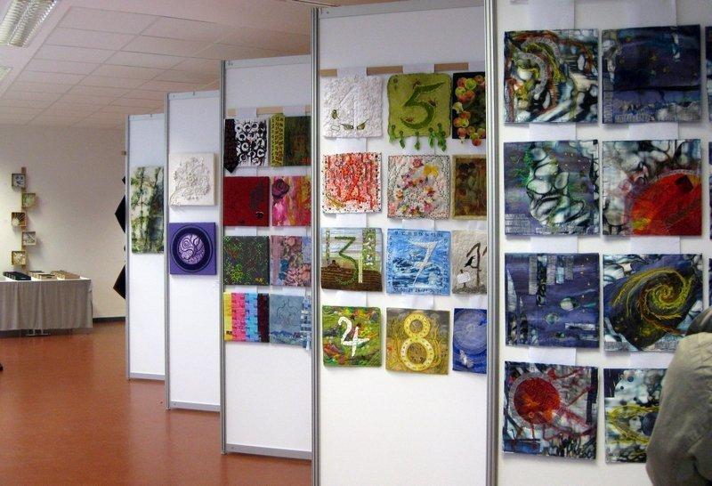 Blick in die Ausstellung der ALKÜNS