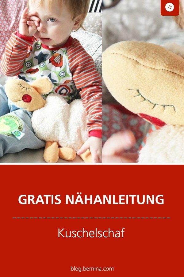 Kostenlose Nähanleitung: Kuschelschaf Kuscheltier nähen