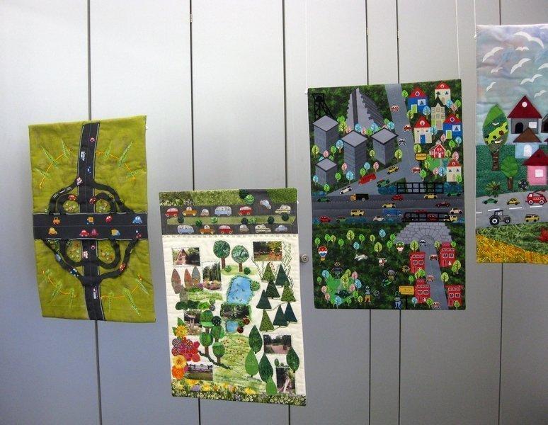 """Blick in die Ausstellung """"B 1"""""""