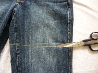 Nahanleitung Tasche Aus Alter Jeans Teil 1